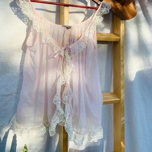 Victorias Secret Lingerie Teddy Open Front